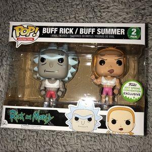 Funko Rick & Morty exclusive Buff Rick & Summer